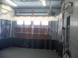 шторы для автосервиса