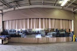 шторы промышленные