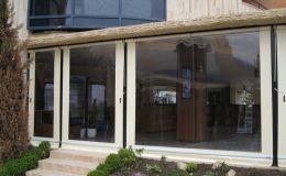 уличные защитные шторы для беседок и веранд