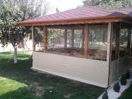 акриловые шторы для беседок и веранд
