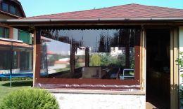 защитные шторы пвх для беседок и веранд